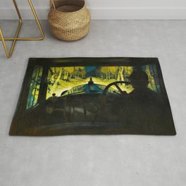The Enchanted Road by Frank O Salisbury Rug