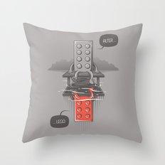 Alter LEGO Throw Pillow