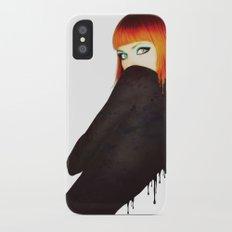 The Girl 5 iPhone X Slim Case