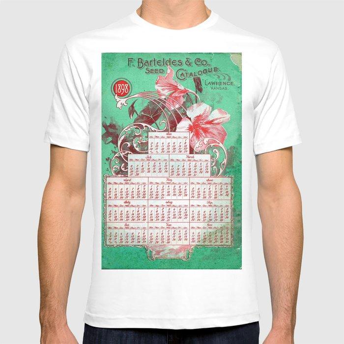 Vintage poster - F  Barteldes Seed Calendar T-shirt