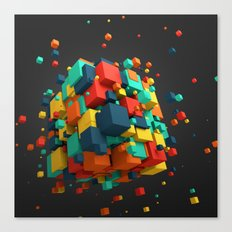 Cool Cube Canvas Print