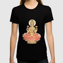 Lakshmi, Goddess of Love (Coral) T-shirt