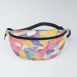 Chaotic Construction Fanny Pack