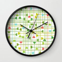 CORAZONES VAN II Wall Clock