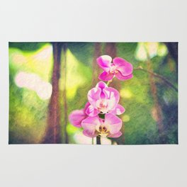 Orchid Impressions Rug
