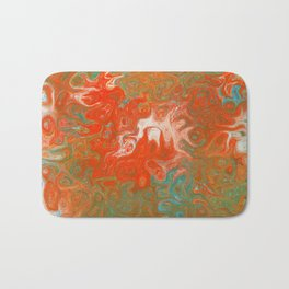 As Luck Would Have It, Abstract Art Bath Mat