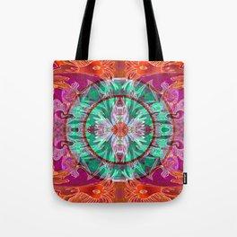 Boujee Boho Queen Mandala Tote Bag