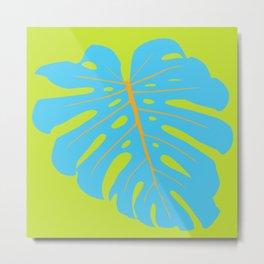 Tropical Leaf - Monstera Metal Print