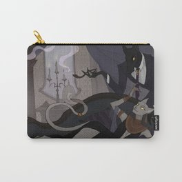 Anubis and Bastet Carry-All Pouch