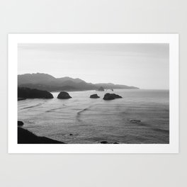New Year's Morning, Ecola State Park Art Print