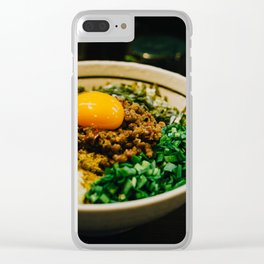 Taiwanese Maze-soba Clear iPhone Case