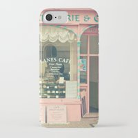 cafe iPhone & iPod Cases featuring Sweet Cafe by Cassia Beck
