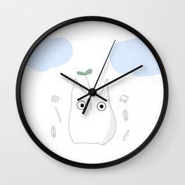 Chibi Rain Wall Clock