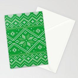 Christmas-Pattern Stationery Cards