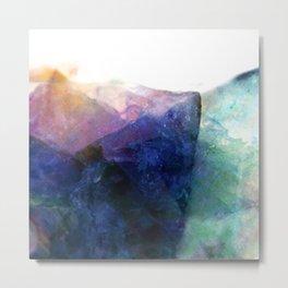 mineral /Agat/ Metal Print