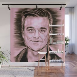 """Robbie """"Candy"""" Wall Mural"""