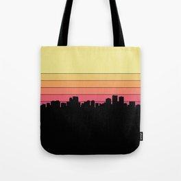 Anchorage Skyline Tote Bag