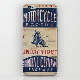 Grunthal Centennial Raceway iPhone Skin