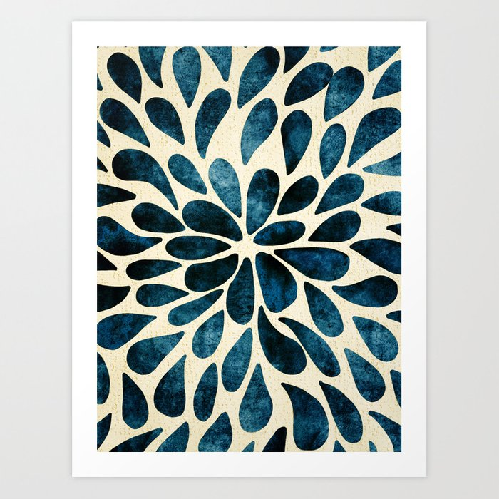Petal Burst #5 Art Print