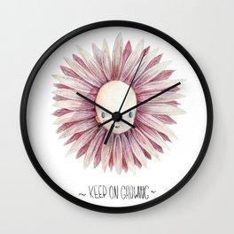 Keep on growing Wall Clock