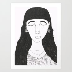 Mim Art Print