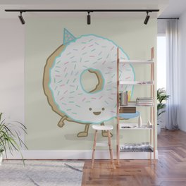 The Birthday Party Donut Wall Mural