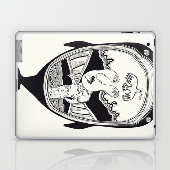 Inside the whale Laptop & iPad Skin