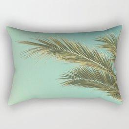 Autumn Palms II Rectangular Pillow