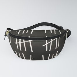 Tally Marks Design Fanny Pack