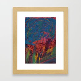 L'important c'est le rose / Pink is the most important Framed Art Print