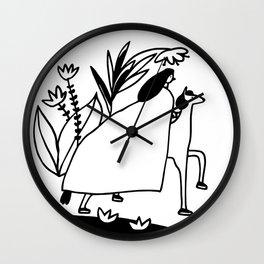 Friend or Foe Wall Clock
