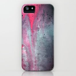 Painted Over a Concrete Feel iPhone Case