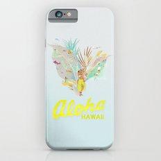 Aloha, Hawaii (Blue) iPhone 6s Slim Case