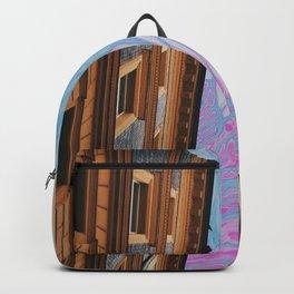 purple sky Backpack