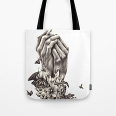 Pray for Nature Tote Bag