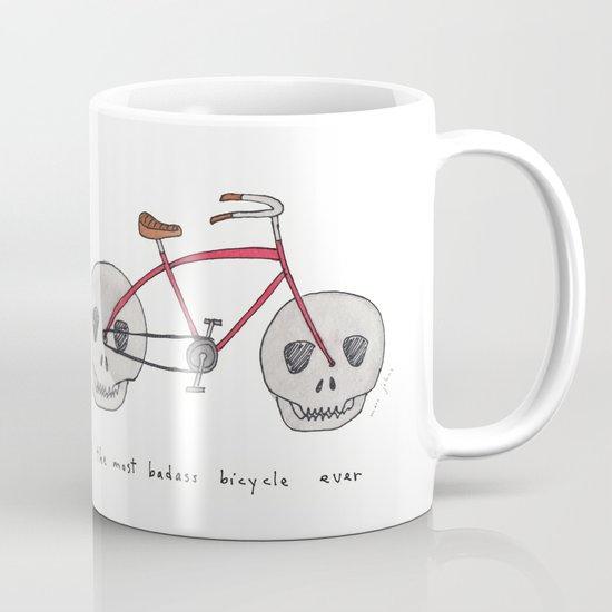 the most badass bicycle ever Mug