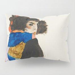 """Egon Schiele """"Moa"""" Pillow Sham"""
