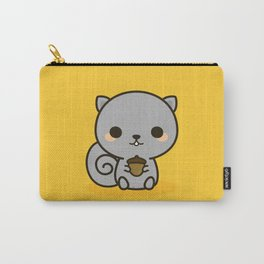 Cute squirrel with acorn Carry-All Pouch