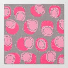 pink stones Canvas Print
