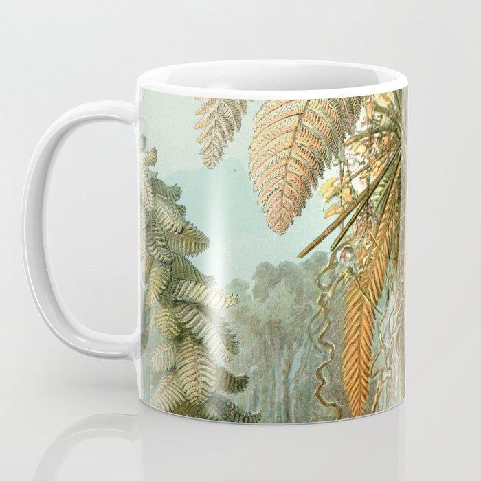 Vintage Tropical Palm Coffee Mug
