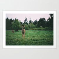Friends for the Day Art Print