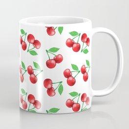 Cherries Pattern Cherry Print Fruit Pattern Coffee Mug