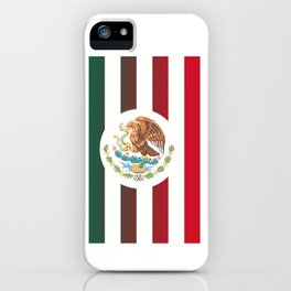 Mexicano Stripes iPhone Case