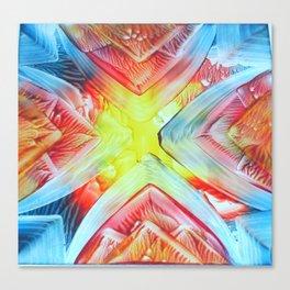 tie-dye Canvas Print