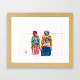 Gangsta Framed Art Print