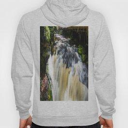 Blurred Lower Gorge Falls Hoody