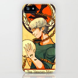 THE HANGED MAN  iPhone Case