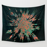cyberpunk Wall Tapestries featuring Tread Lightly by Obvious Warrior