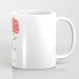 red pink purple Sweet William flower Coffee Mug