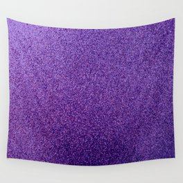 violet glitter photo Wall Tapestry